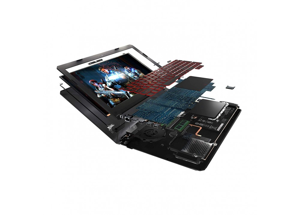 """ASUS TUF GAMING FX504GD I7-8750H 8GB 1TB 4D VGA 15.6"""" FHD BLACK"""