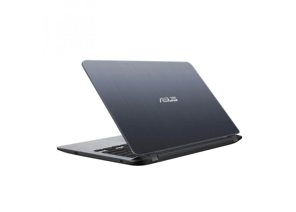 "ASUS LAPTOP X407MA-N4000 4GB 500GB 14"" HD WIN 10 SILVER"