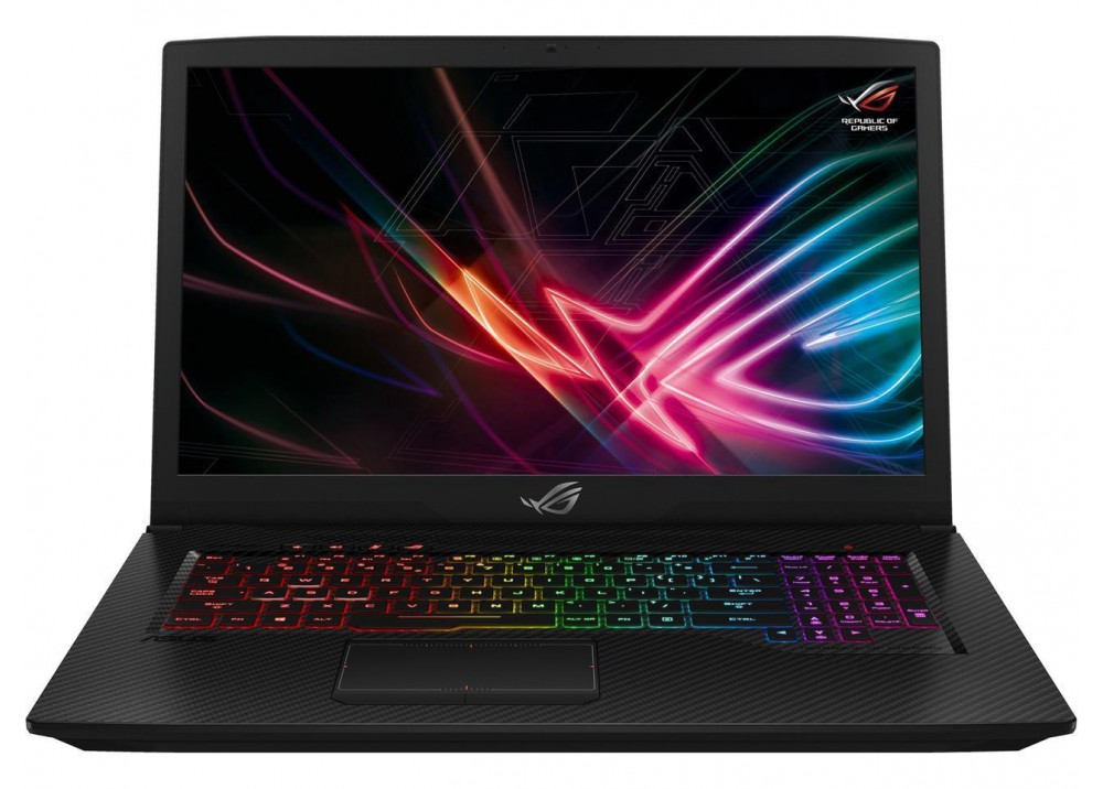 "ASUS GAMING LAPTOP FX705GE I7-8750H 16GB 1TB+256GB SSD 17.3"" FHD BLACK WITH MOUSE & BAG"