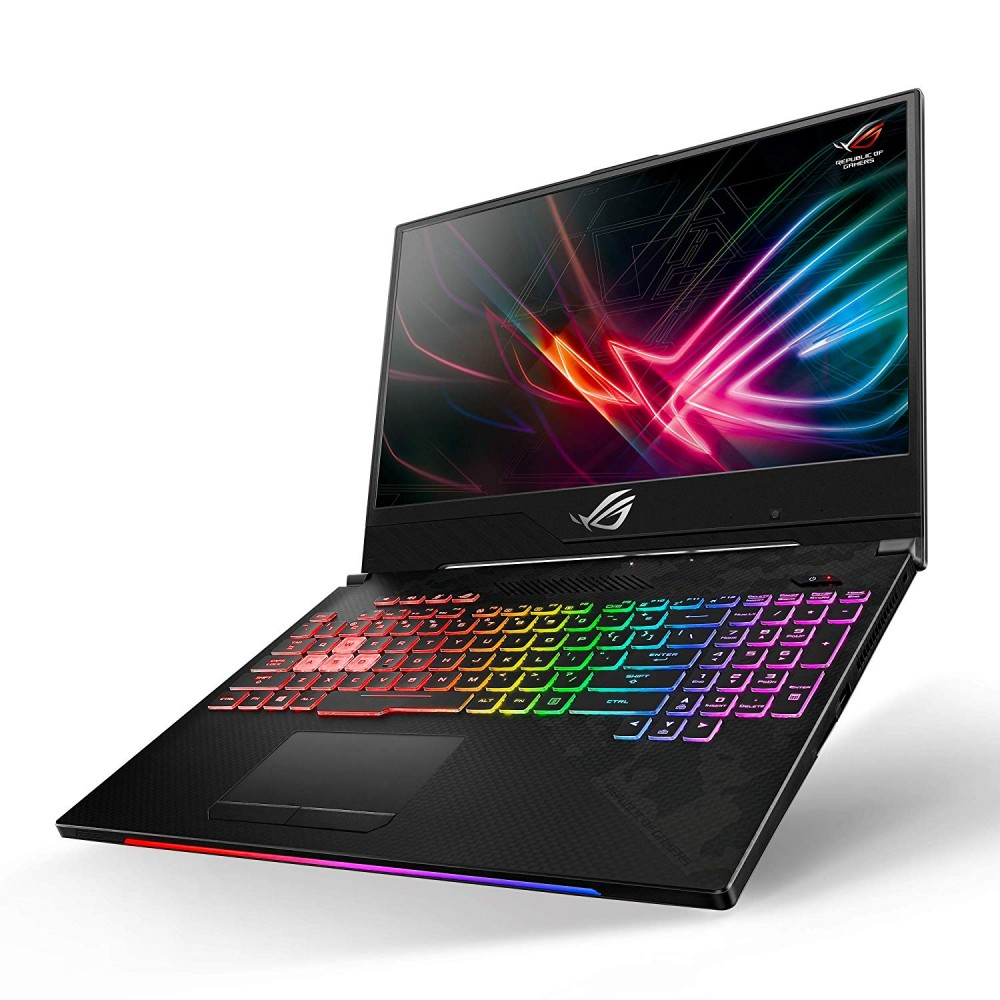 "ASUS GAMING LAPTOP ROG SCAR II GL504GW I7-8750H 16GB 1TB 256GB SSD 8D 15.6"" FHD BLACK WITH MOUSE & BAG"