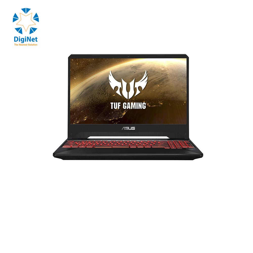 "ASUS LAPTOP FX505DY RAYZEN 5 3550H 8GB 256SSD 4G-RX560 15.6"" Black"