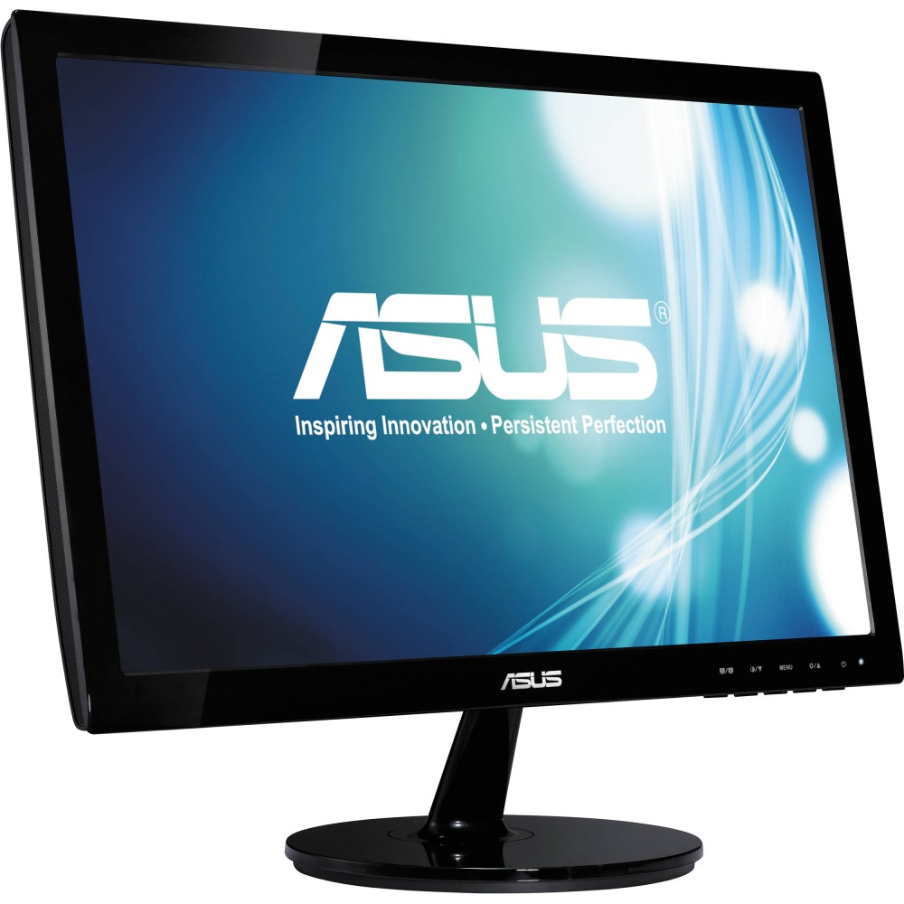 "ASUS MONITOR LED VS197 18.5"" HD BLACK"