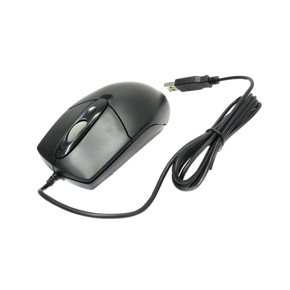 A4 TECH WIRED MOUSE OP-720 USB BLACK