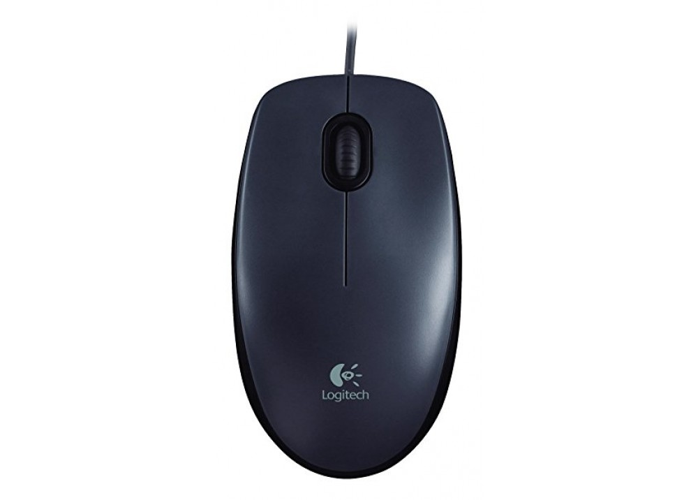 LOGITECH WIRED MOUSE M90 USB BLACK