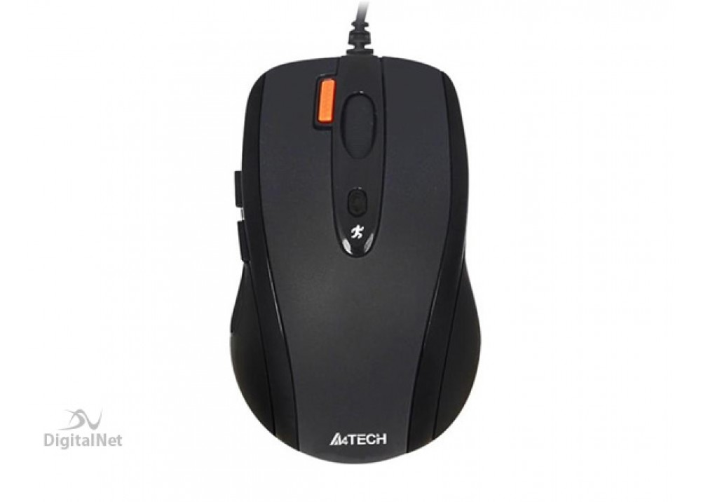 A4 TECH WIRED MOUSE N-70FX MINI USB BLACK