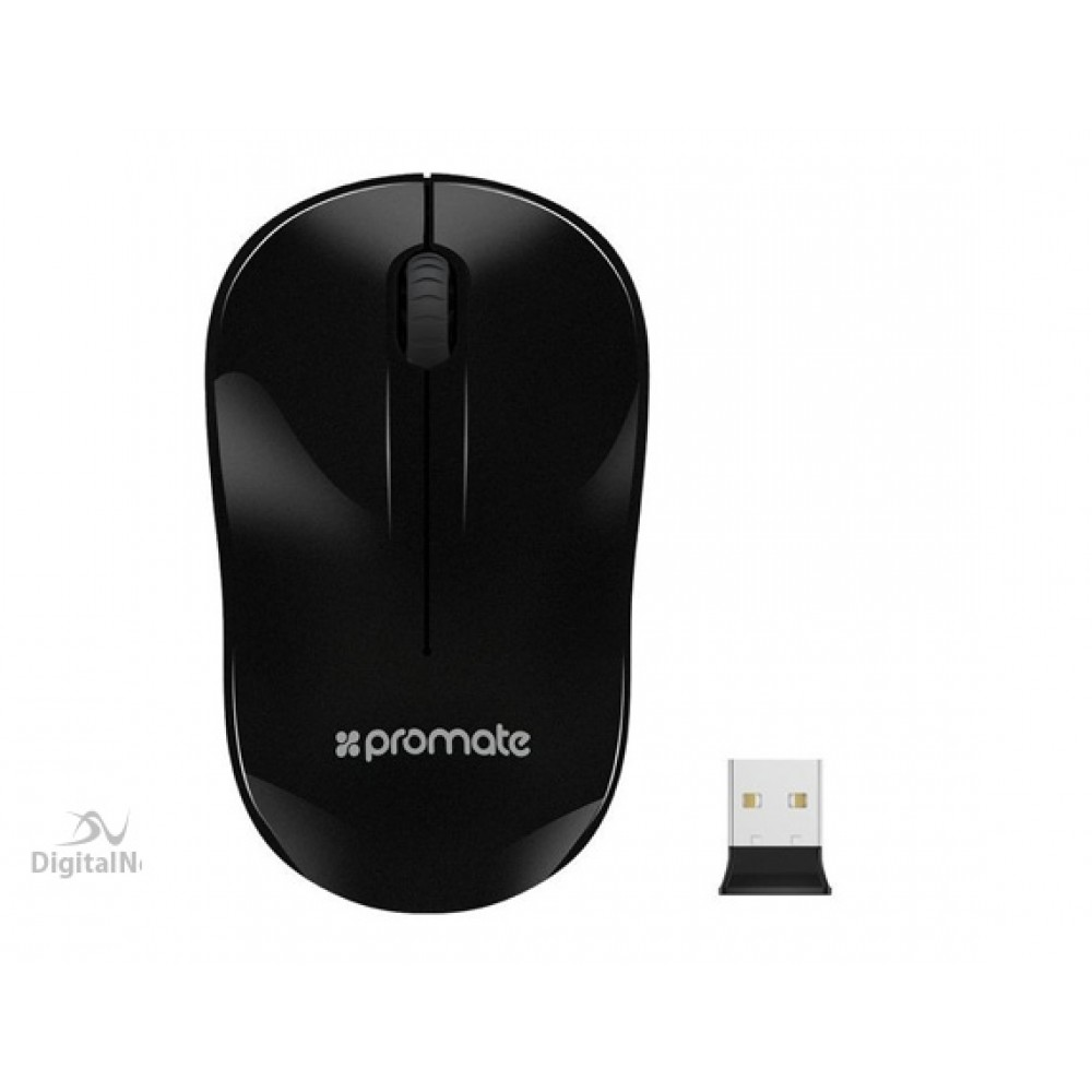 PROMATE WIRELESS MOUSE CLIX-1 BLACK