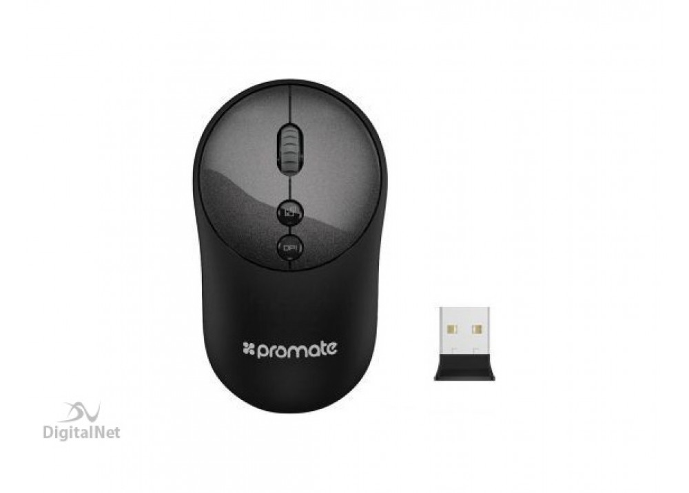 PROMATE WIRELESS MOUSE CLIX-2 BLACK
