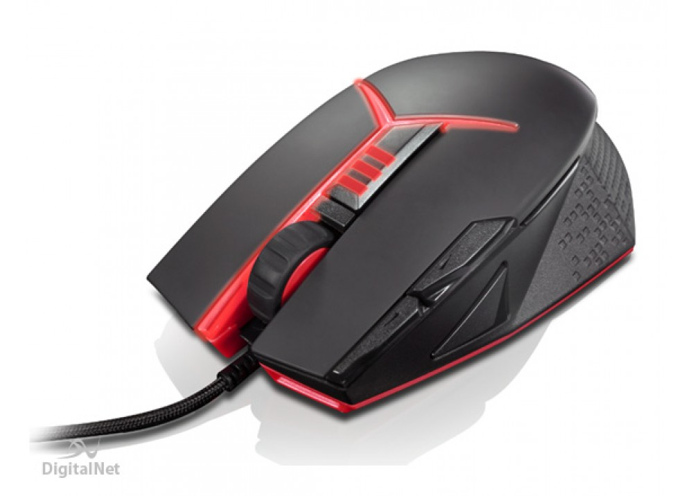 LENOVO WIRED MOUSE Y GAMING PRECISION M800 USB BLACK RED