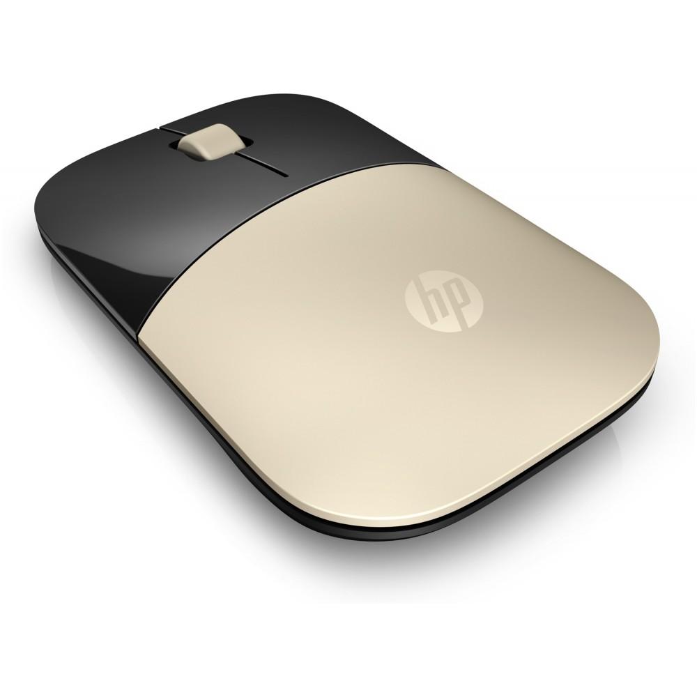 HP Z3700 WIRELESS MINI MOUSE GOLD
