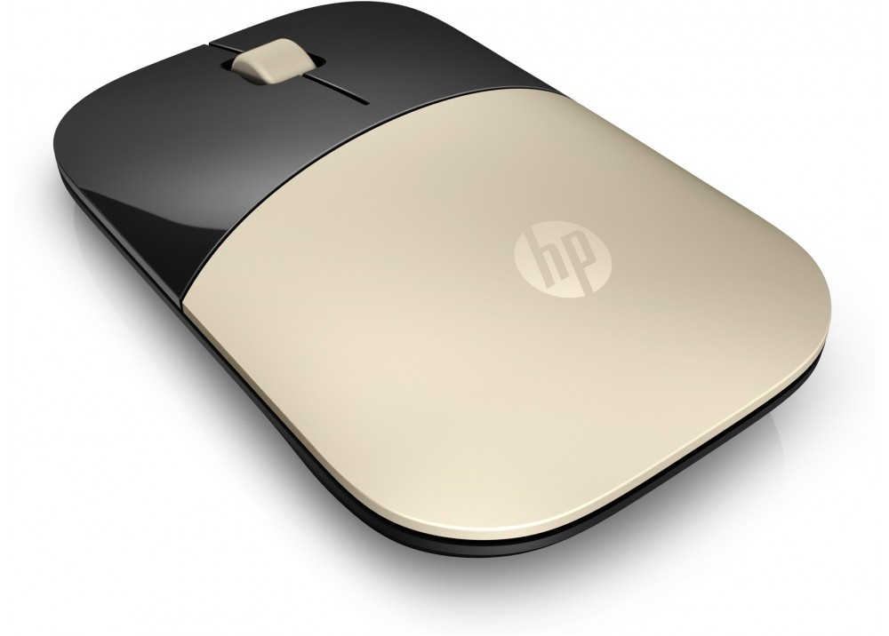 HP Z3700 WIRELESS MINI MOUSE GOLD