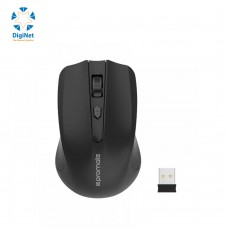 PROMATE WIRELESS MOUSE CLIX-8 BLACK