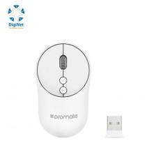 PROMATE WIRELESS MOUSE CLIX-2 WHITE