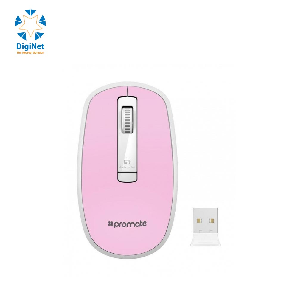 PROMATE WIRELESS MOUSE CLIX-3 PINK