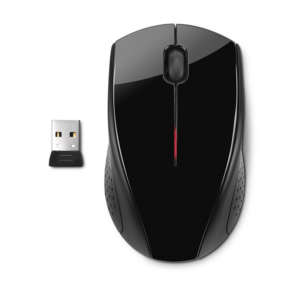 HP  MOUSE X3000 WIRELESS BLACK