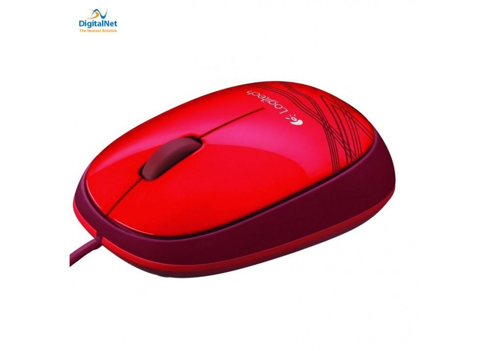 LOGITECH MOUSE M105 USB RED