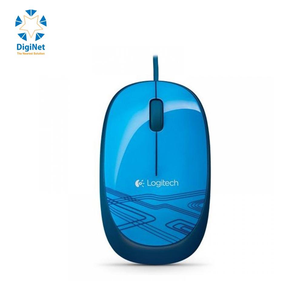 LOGITECH MOUSE M105 USB BLUE