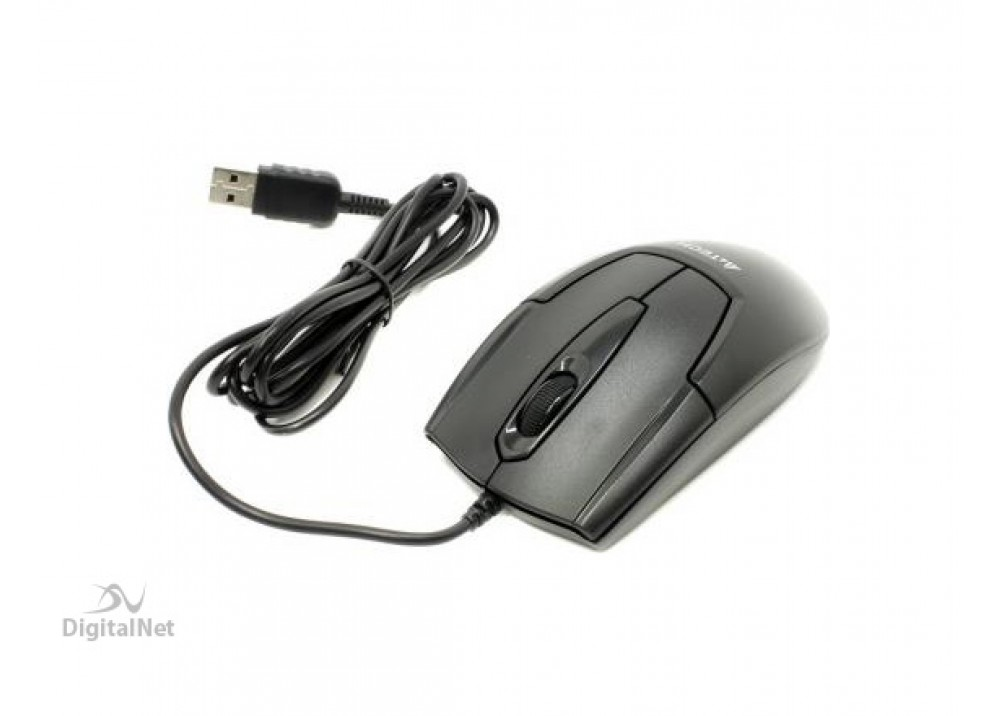 A4 TECH WIRED MOUSE OP 540 USB BLACK