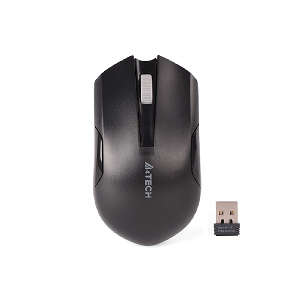 A4 TECH WIRELESS MOUSE G3-200N BLACK