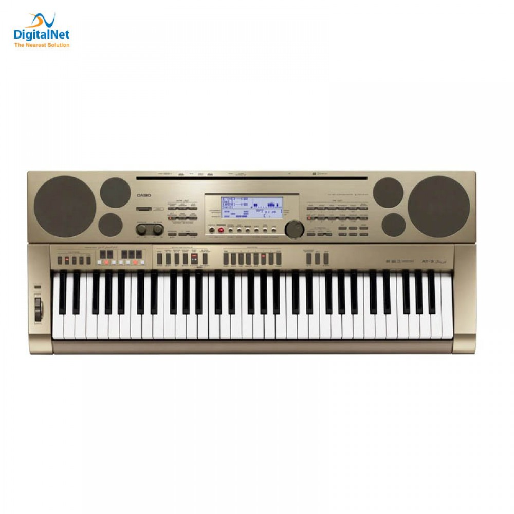 CASIO ORIENTAL AND MIDDLE EASTERN KEYBOARD AT-3K2 GOLD