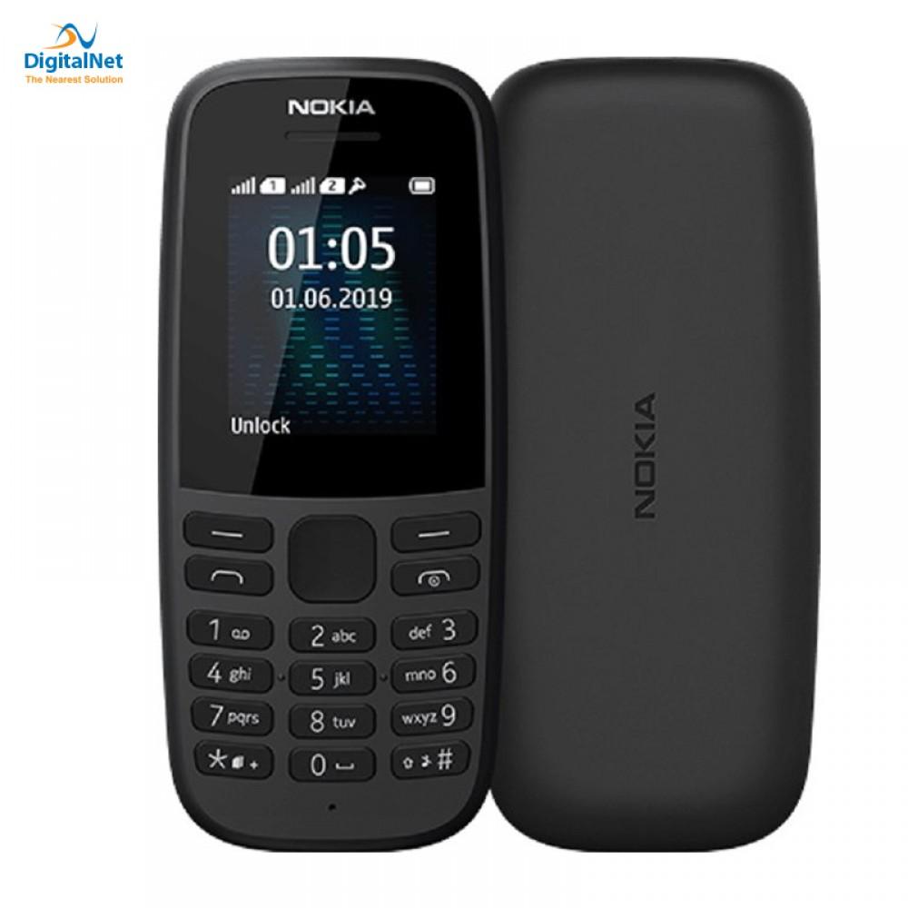 NOKIA N105 2019  4 MB 4 MB DUAL SIM BLACK