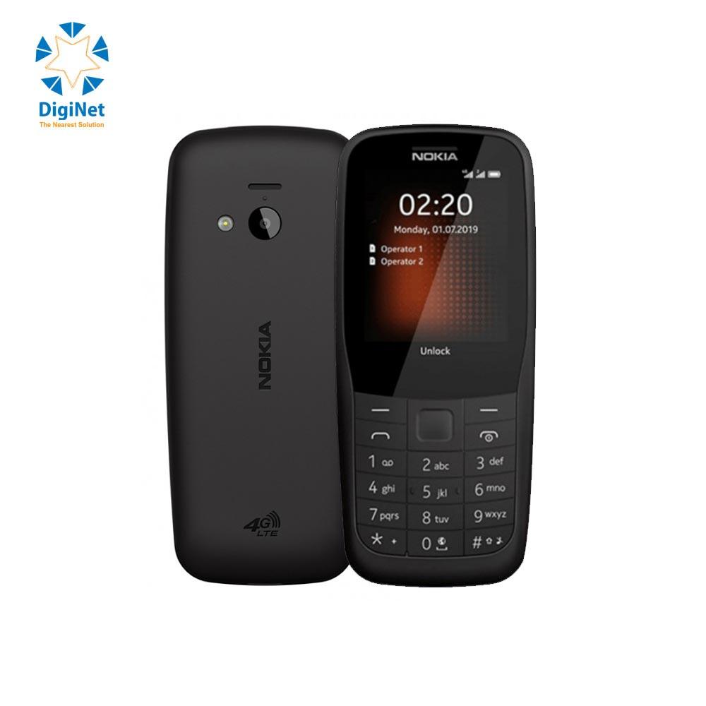 NOKIA MOBILE 220 4G DUAL SIM BLACK