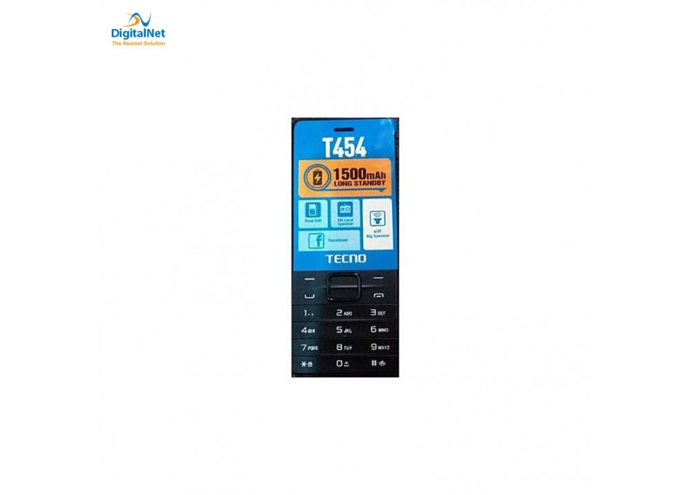 TECNO T454 4MB 4MB DUAL SIM BLACK