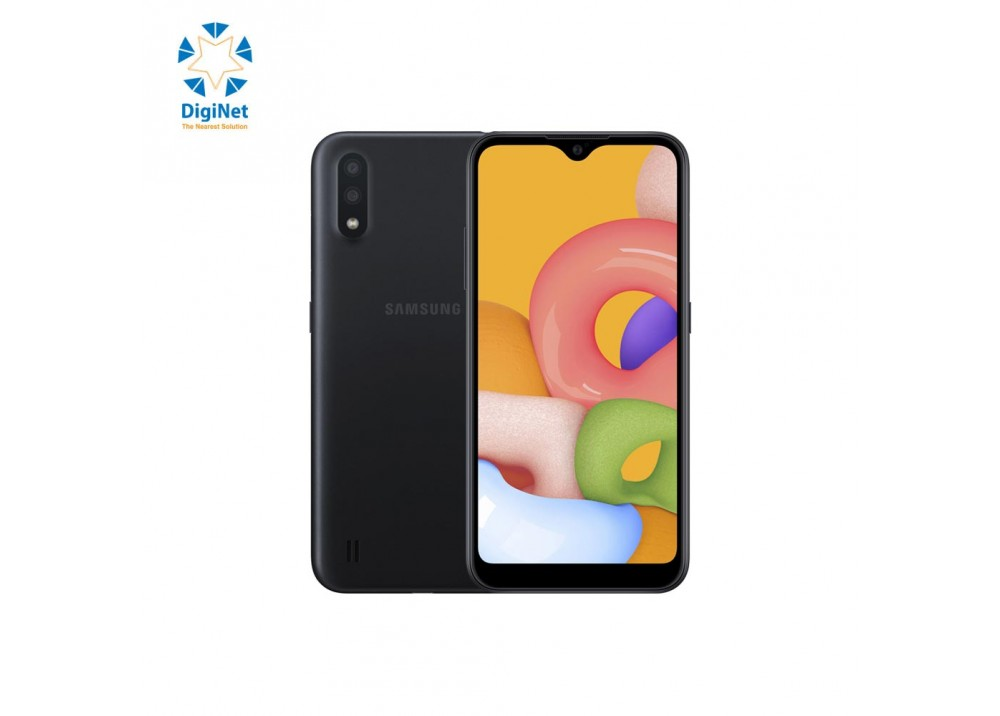 SAMSUNG MOBILE GALAXY A01 2GB 16GB DUAL SIM BLACK