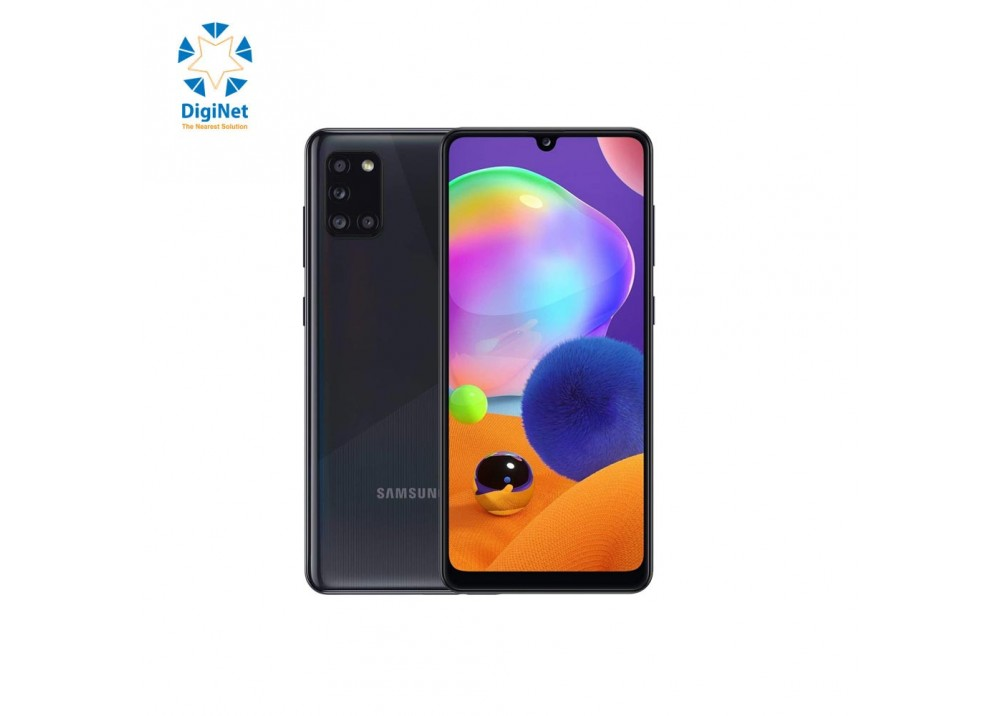 SAMSUNG MOBILE GALAXY A31 4GB 128GB DUAL SIM PRISM CRUSH BLACK