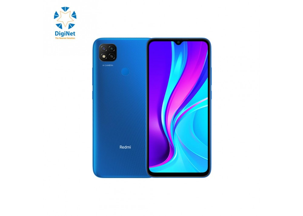XIAOMI MOBILE REDMI 9 4GB 64GB DUAL SIM BLUE