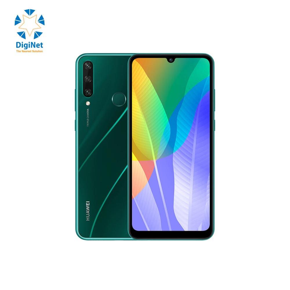 HUAWEI MOBILE Y6p 3GB 64GB DUAL SIM GREEN