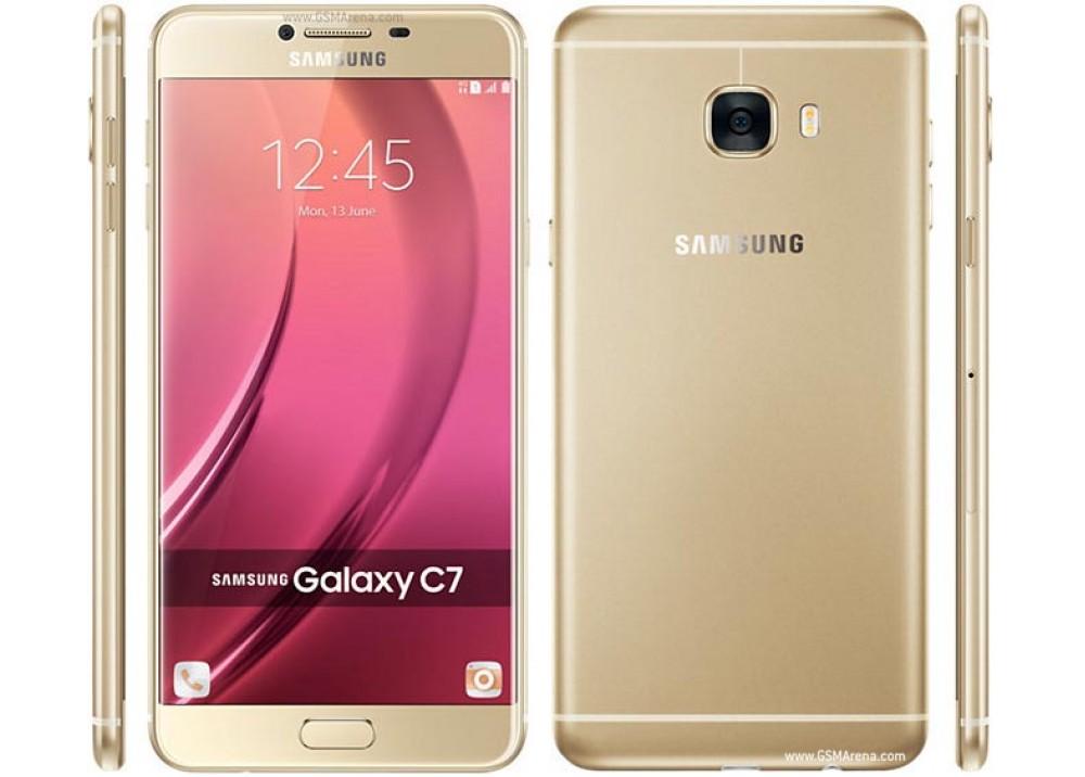 SAMSUNG GALAXY C7 32G DUOS GOLD