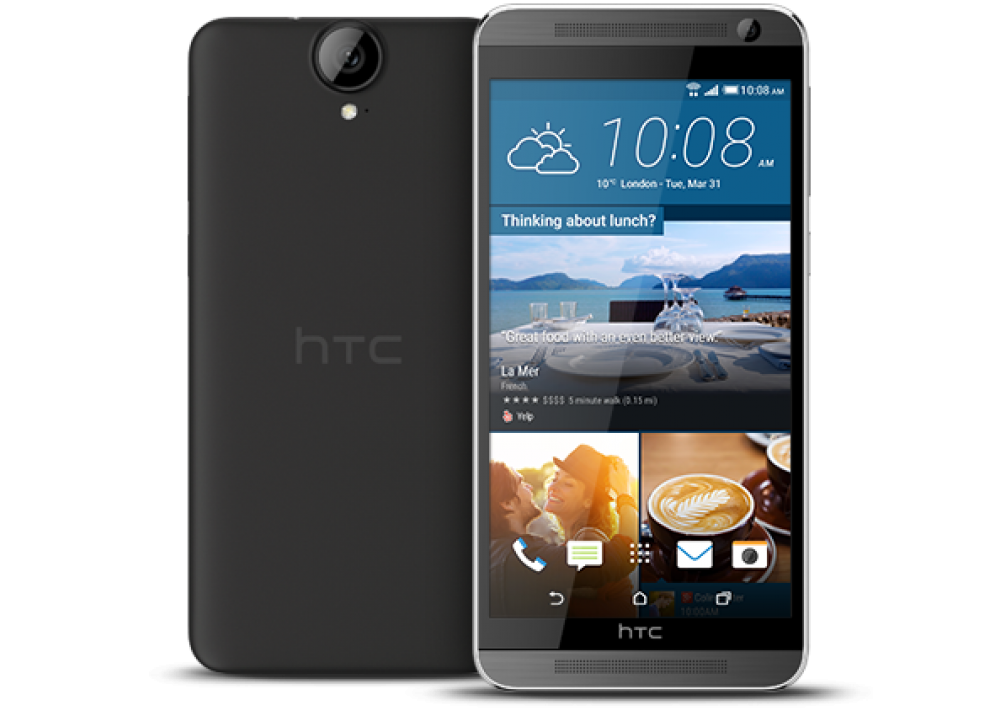 HTC ONE E9 DUAL BLACK