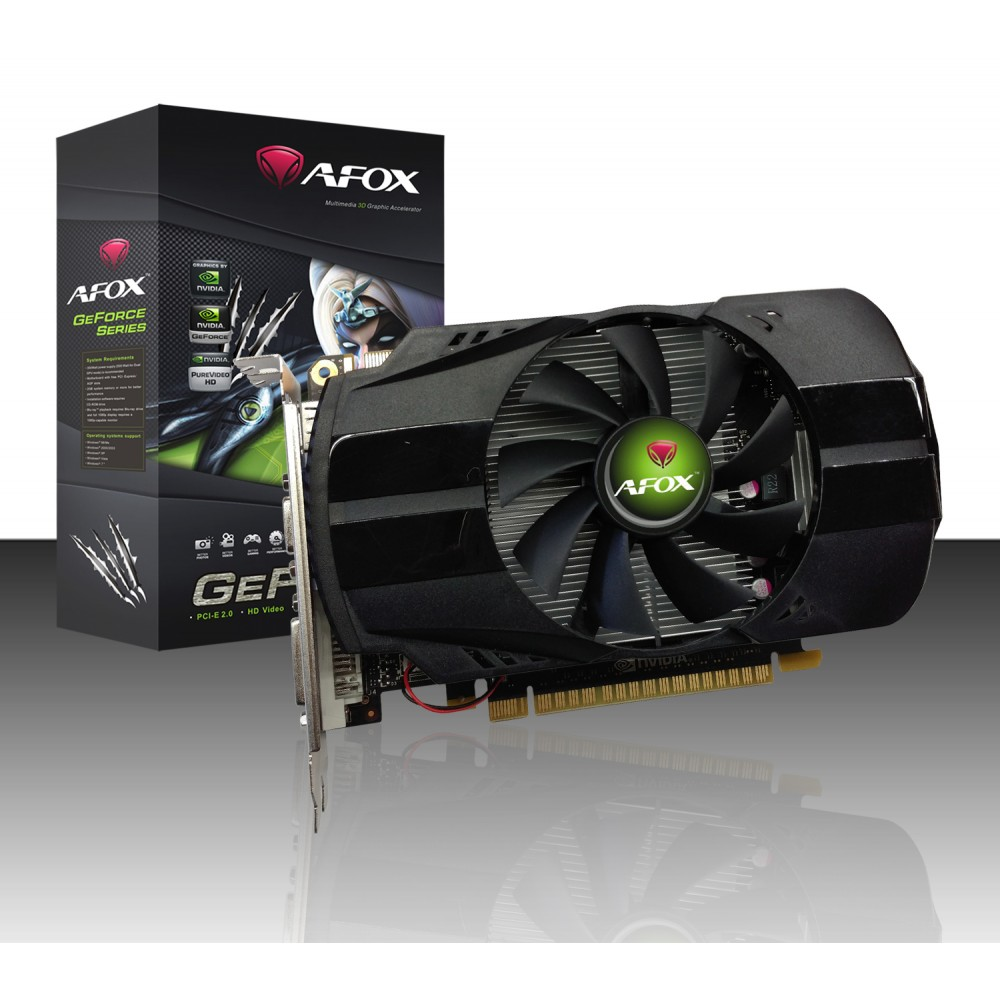 AFOX GRAPHIC CARD NVIDIA GEFORCE 730 4GB 128BIT DDR3
