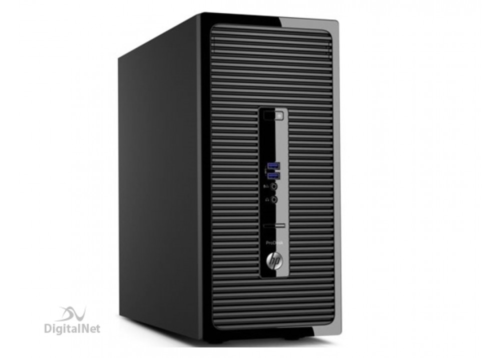 HP DESKTOP COMPUTER TOWER 280G2 CORE I3 4GB 500GB WITH KEY MOU AND HP MON18.5""