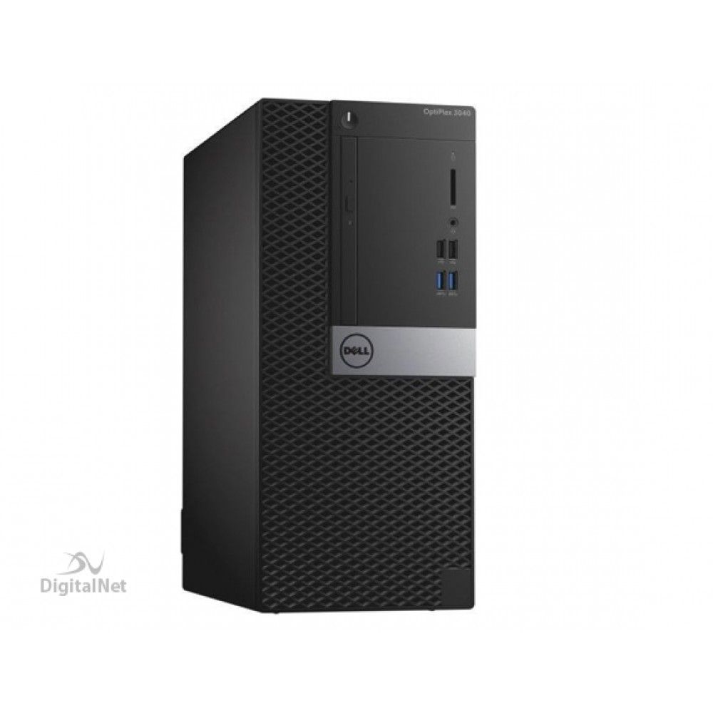 DELL DESKTOP COMPUTER TOWER OPTIPLEX 3040 I3-6100 4GB 500GB Dos