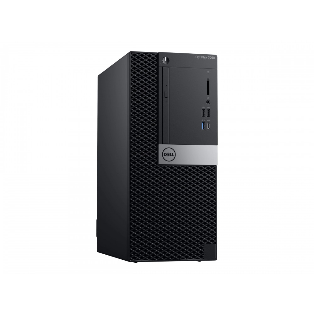 DELL DESKTOP COMPUTER OPTIPLEX 7060 I7-8700 4GB 1TB BLACK