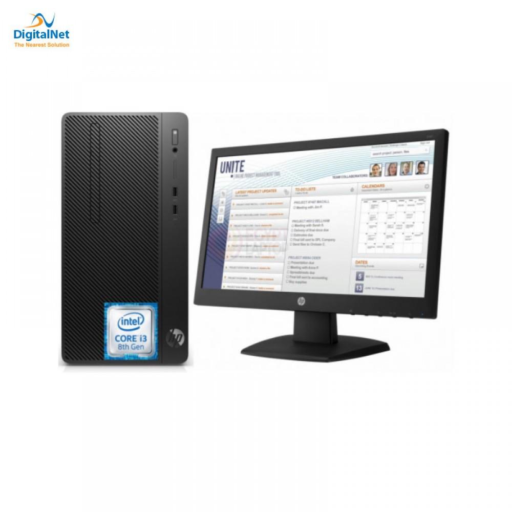 "HP COMPUTER 290 G2 i3-8100 4GB 1TB  DOS+V197 18.5"" BLACK"