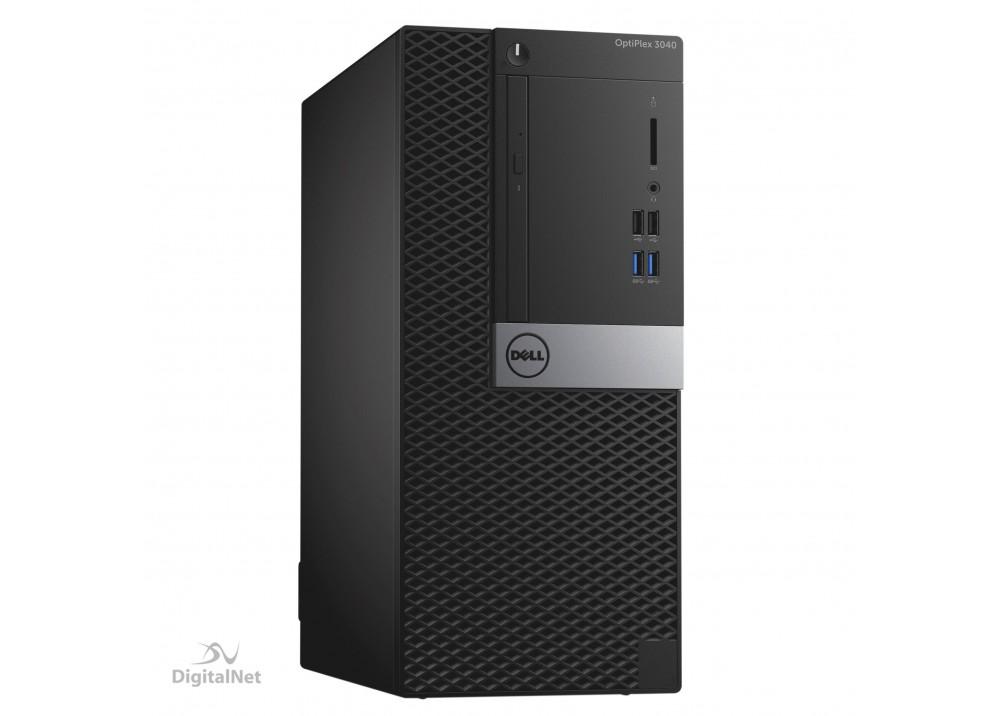 "DELL DESKTOP COMPUTER TOWER OPTIPLEX 3040 I3-6100 4GB 500GB WITH 18.5"" MON"