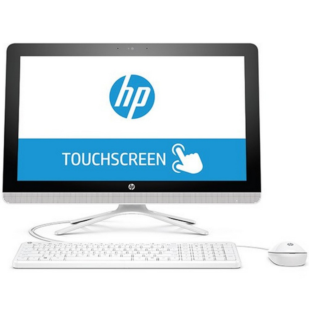"HP ALL IN ONE DESKTOP 22-B043NE I5-6100U 6G 1TB 2D VGA 21.5"" TOUCH WIN 10 WHITE"