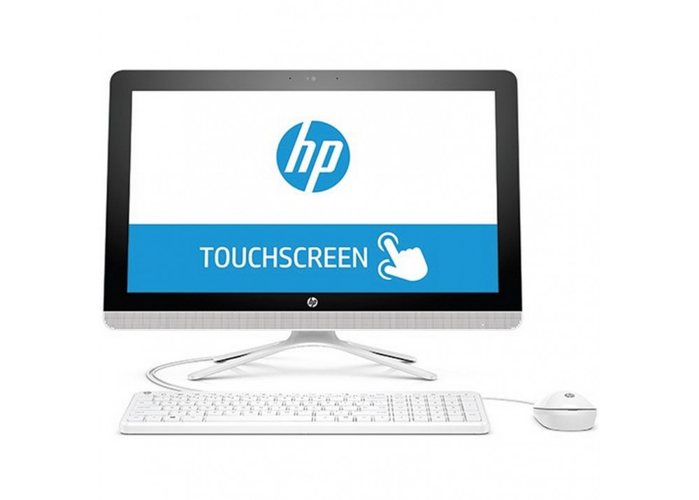 "HP ALL IN ONE DESKTOP 22-B043NE I5-6200U 6G 1TB 2D VGA 21.5"" TOUCH WHITE"
