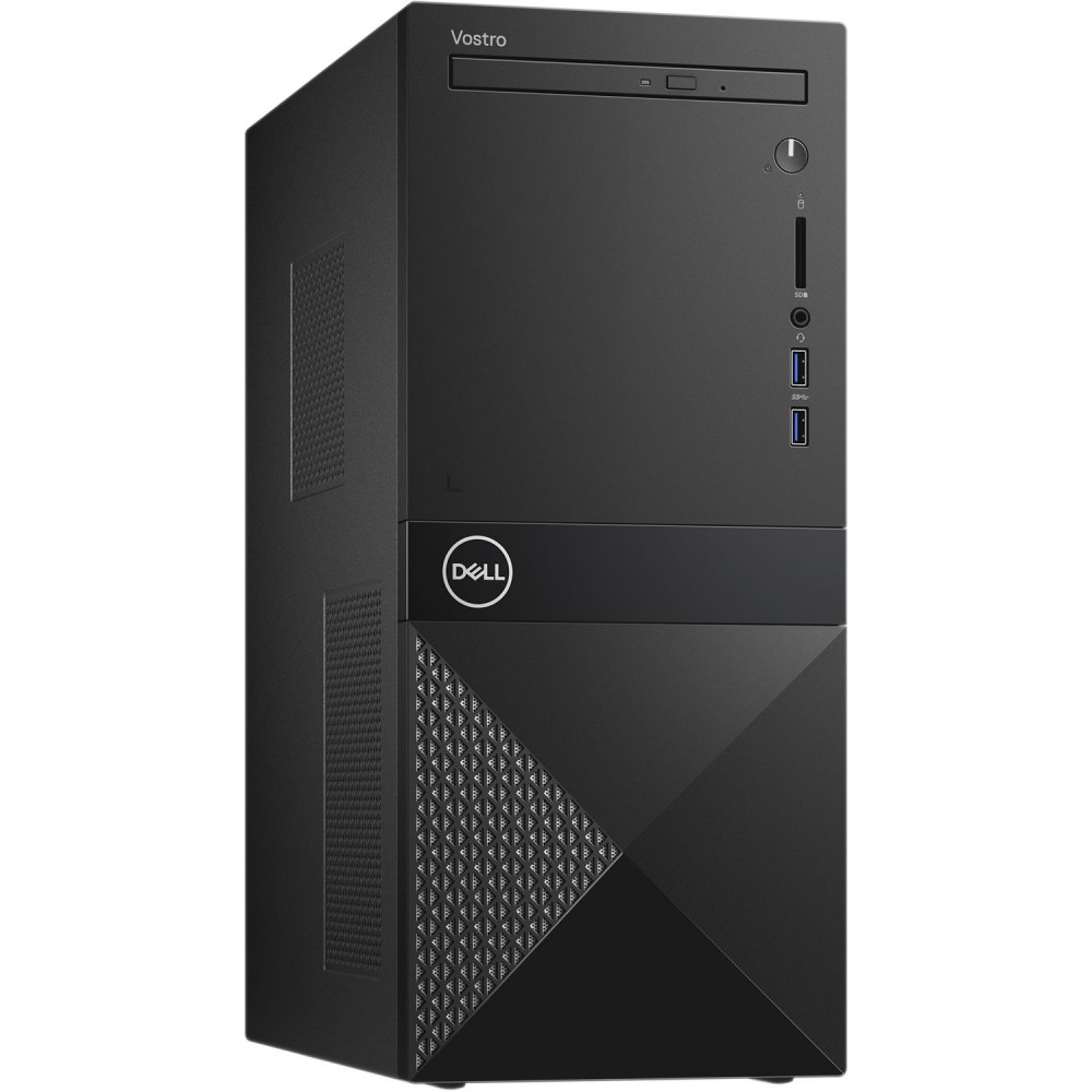 DELL DESKTOP COMPUTER VOSTRO 3670 I7-8700 8GB 1TB BLACK