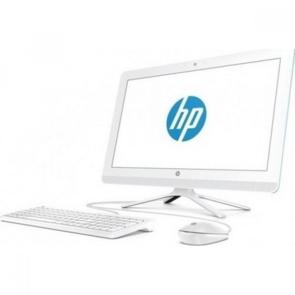 "HP ALL IN ONE 22-B335NE I3-7100 4GB 1TB 2D VGA 21.5"" TOUCH WIN10 WHITE"