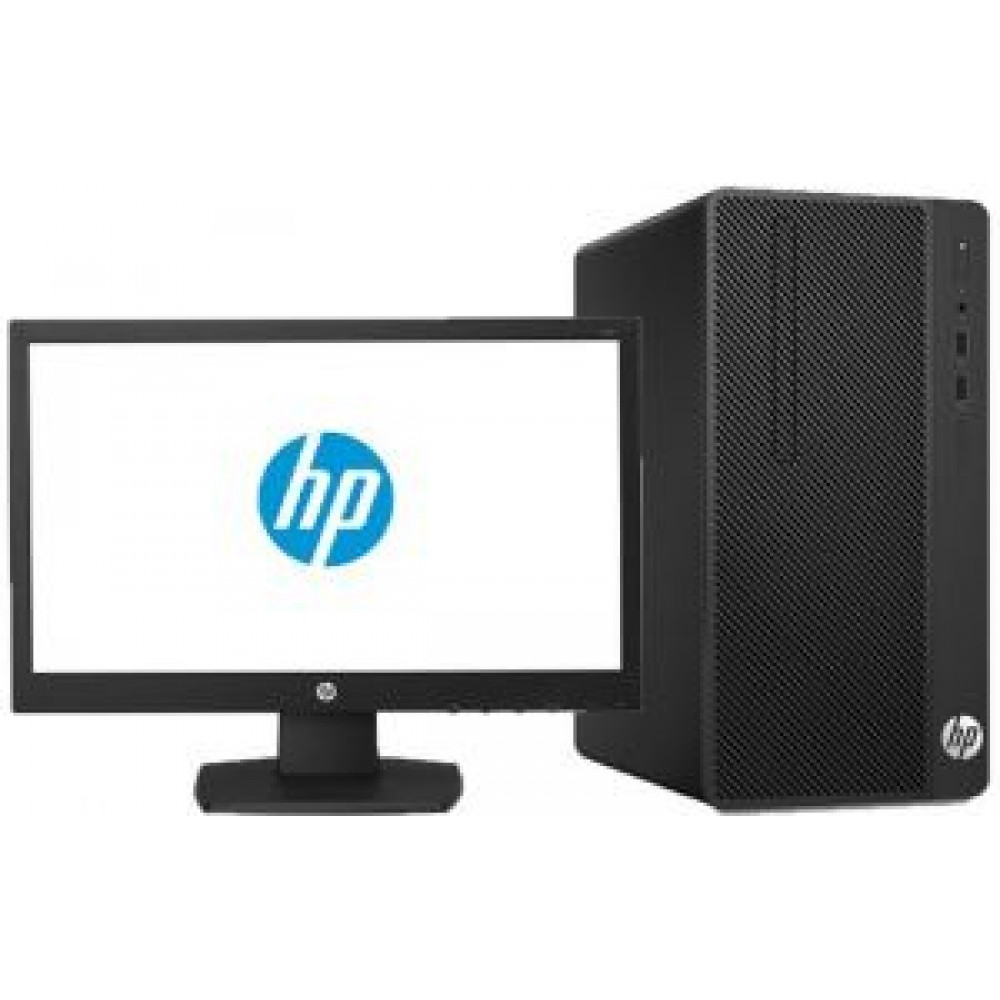 "HP BUSINESS DESKTOP 290 G1 I5-7400 4GB 1TB WITH HP MONITOR LED V 197 18.5"" HD BLACK"