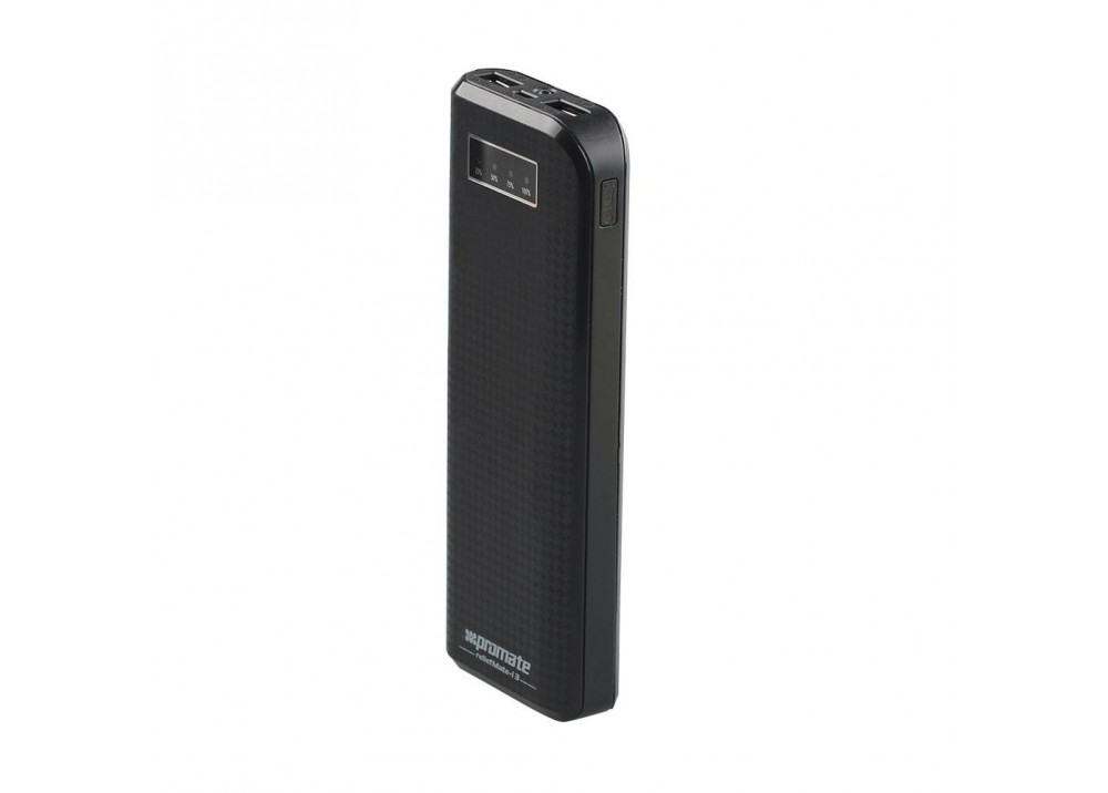 PROMATE POWER BANK PORTABLE CHARGER RELIEFMATE-13 13200 MAH BLACK