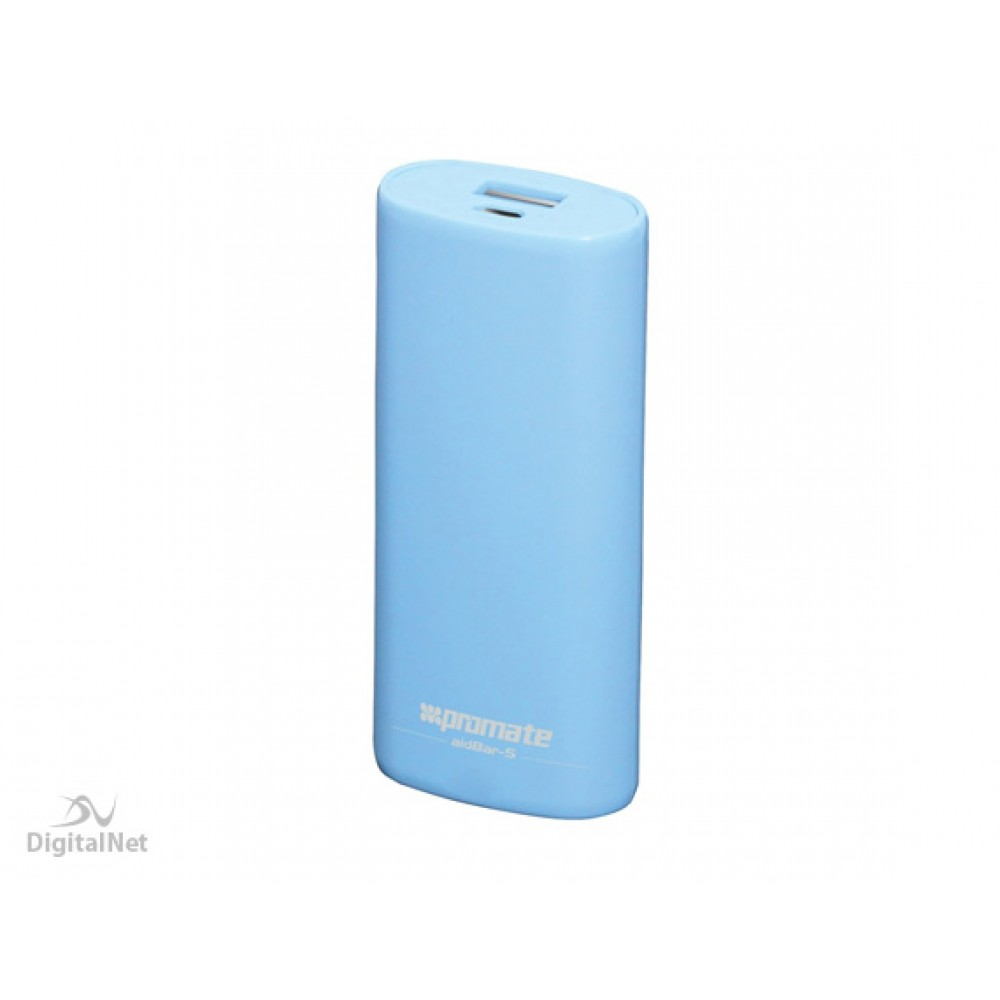 PROMATE POWER BANK  BACK-UP BAERY 5200MAH BLUE