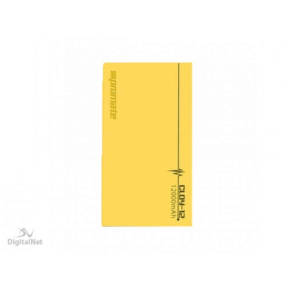 PROMATE POWER BANK CLOY-8 8000MAH YELLO