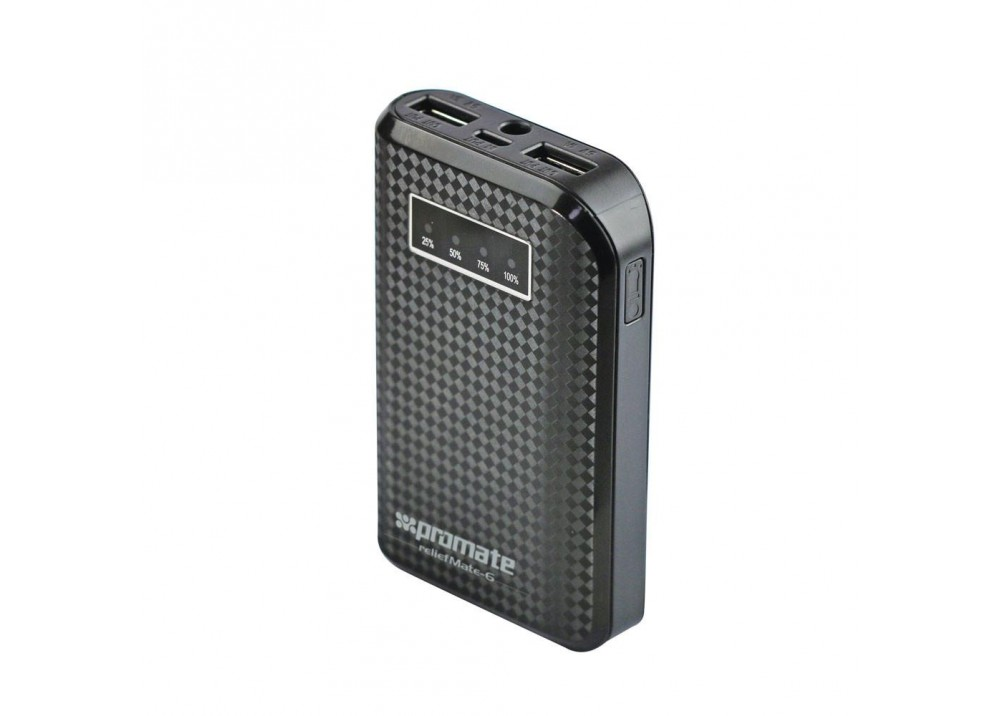 PROMATE POWER BANK PORTABLE CHARGER RELIEFMATE‐6.BLACK
