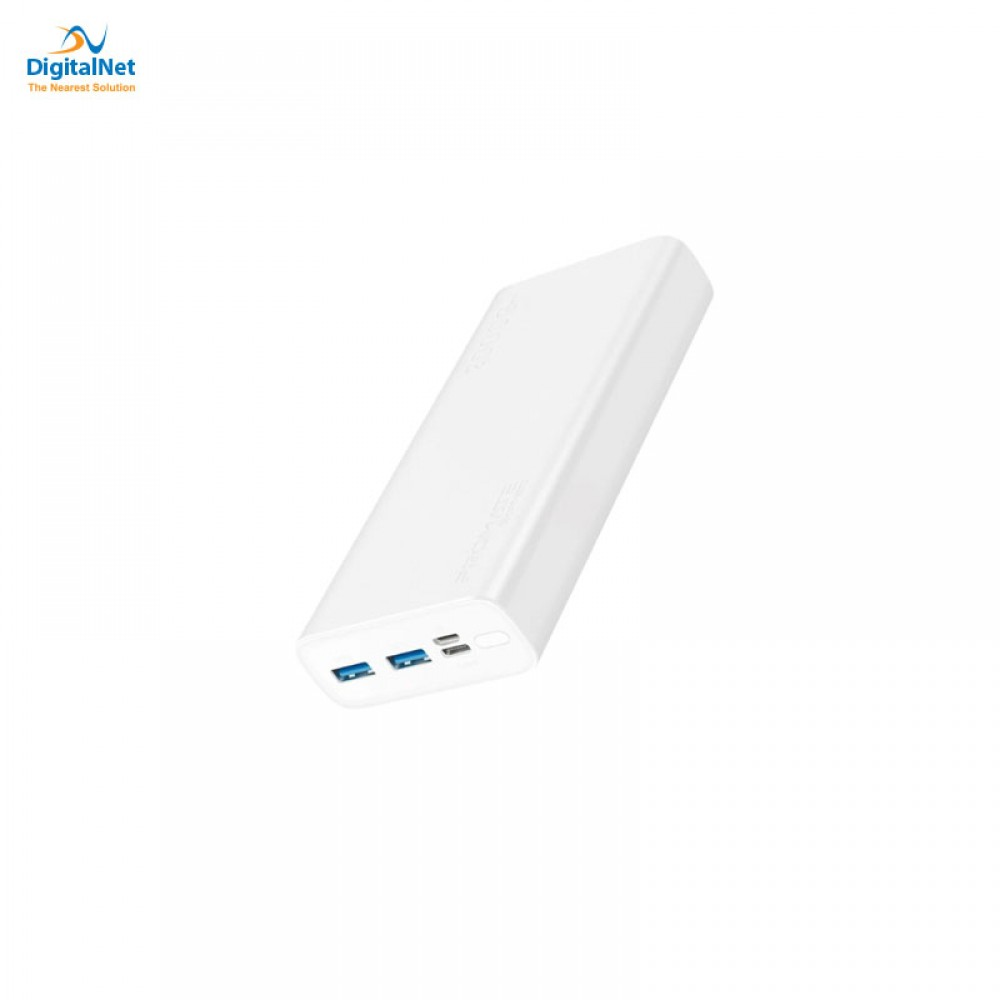 PROMATE POWER BANK SMART DUAL USB WHITE