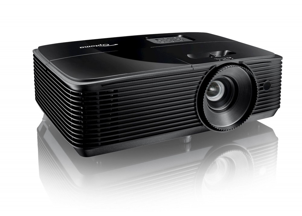 OPTOMA PROJECTOR S334E DLP 3800 LUMENS & 3D SUPPORT BLACK