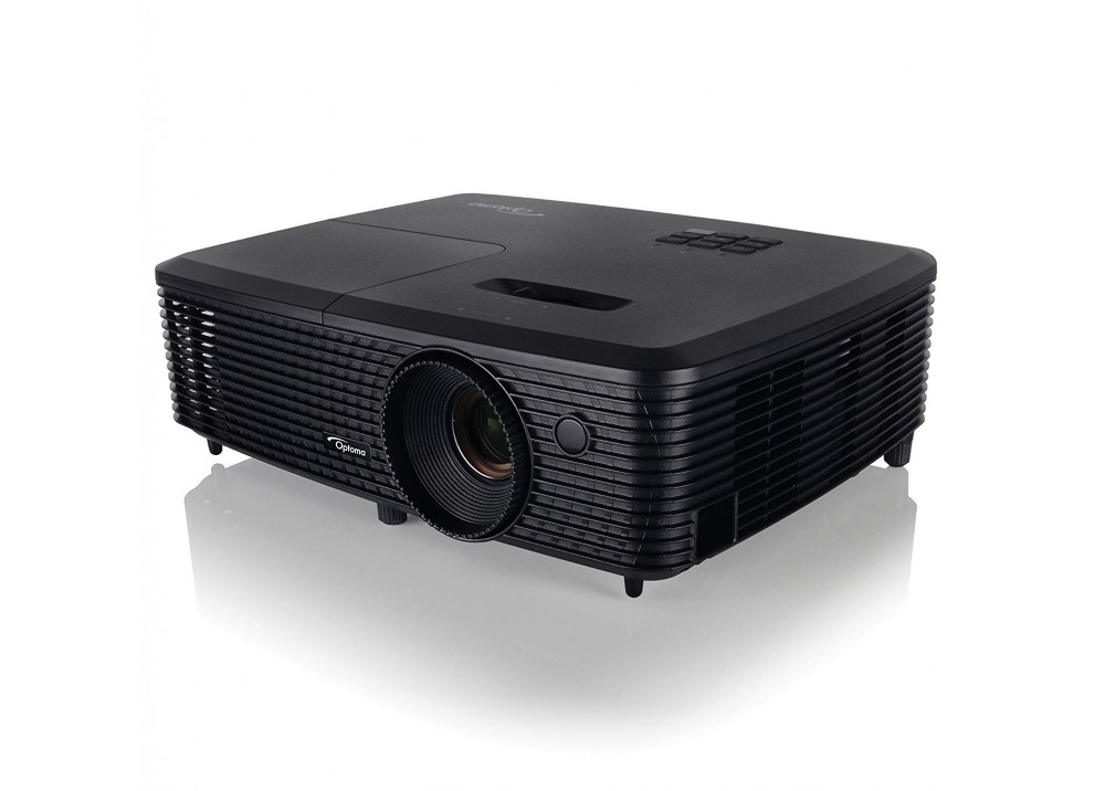 OPTOMA PROJECTOR X341 DLP 3300 LUMENS & 3D SUPPORT BLACK
